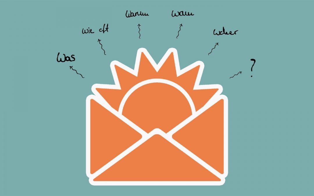 Gebrauchsanleitung für unseren Blog