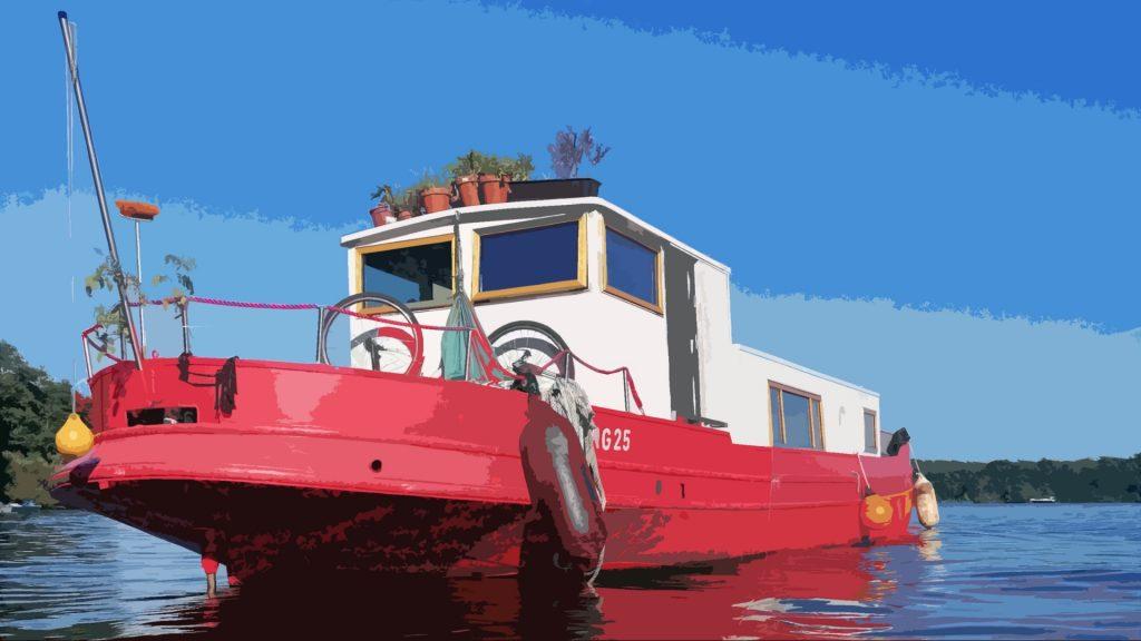 Tiny-Houseboat